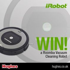 #Win a Rommba Vacuum Cleaning Robot #competition #giveaway #win #Instagram http://www.theprizefinder.com/content/win-irobot-roomba-774-robot-vacuum-cleaner
