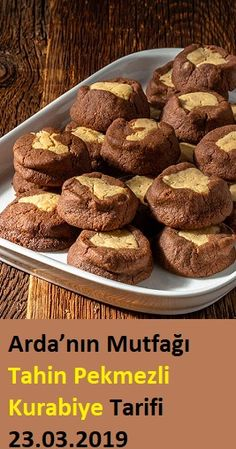 Arda& Cuisine Cookie Recipe with Tahini Molasses Cookie Recipes Molasses Recipes, Tahini Recipe, Molasses Cookies, Homemade Beauty Products, Cupcake Cookies, Cookie Recipes, Deserts, Dinner Recipes, Food And Drink