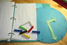 How can you use Cuisenaire Rods to learn to tell time?