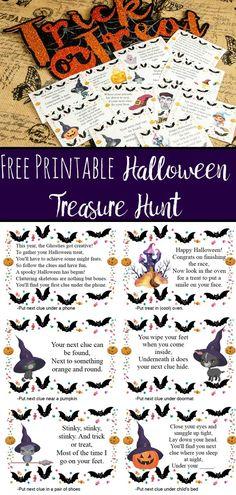 Halloween Masks Kids, Halloween Riddles, Printable Halloween Masks, Halloween Scavenger Hunt, Scavenger Hunt Clues, Scavenger Hunt For Kids, Halloween Activities For Kids, Halloween Party Games, Halloween 2020