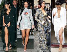Kim Kardashian's Wedding Outfits in Paris: Pictures - Us Weekly