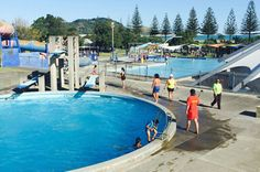 Gisborne Olympic Pool is situated directly across the road from the beach. Gisborne New Zealand, See The Sun, Olympics, Remote, Coastal, Country, City, Beach, Pictures