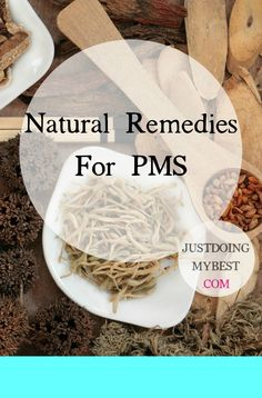 """OTC meds can help with the symptoms of PMS, but contain """"other ingredients"""" your body doesn't need. Natural remedies help without the side effects. Pms Remedies, Holistic Remedies, Homeopathic Remedies, Natural Health Remedies, Health And Beauty Tips, Health Tips, Health And Wellness, Health Articles, Natural Medicine"""