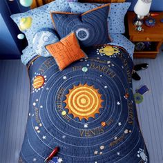 I saw this quilt years ago and always wanted it for my little man.  I think it's Pottery Barn.