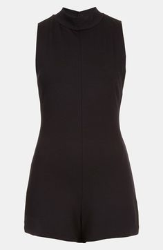 d4c6d68d85a5 Topshop High Neck Romper available at  Nordstrom Stylish Older Women