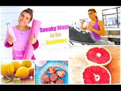 Sneaky ways to be healthier: my fit tips! Health Facts, Health Quotes, Health Tips, Health Logo, Health Fitness, Cambria Joy, Health Snacks For Work, Health Care Assistant, Ways To Be Healthier