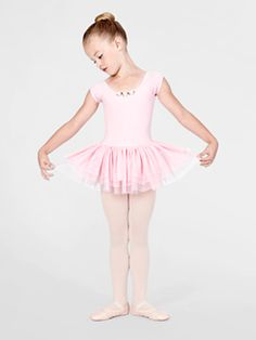 Children's dance clothes and shoes