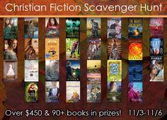 Christian Fiction Scavenger Hunt! Join us!