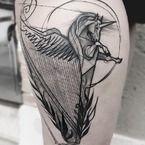Tatuaże w formie szkiców- nowy trend