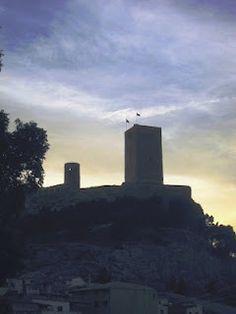 El castillo de Biar (Alicante)