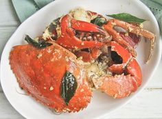 Creamy Malaysian Butter Crab More