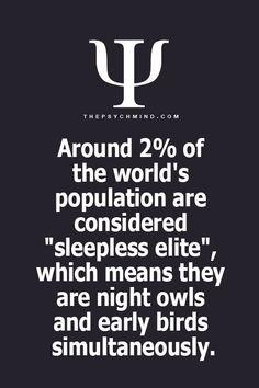 Sleepless Elite