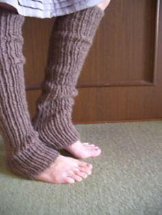 patron tricot leg warmer