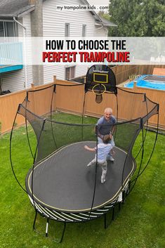 Wondering how to choose the best backyard trampoline. Read this handy guide before you make your purchase | Backyard Trampoline | Kids Trampoline | Trampoline for Sale | Trampoline Ideas | Trampolines outdoor #trampoline #outdoor #backyard #exercise #kids Spring Free Trampoline, Springless Trampoline, Toddler Trampoline, Trampoline Springs, Rebounder Trampoline, Trampoline Workout, Trampolines For Sale, Things That Bounce