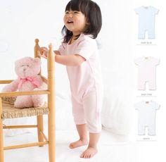 Popper opening on shoulder Popper fastening around legs Baby Blue, Pink White, Legs, Shoulder, Bridge