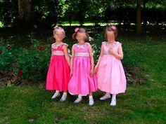 Cortège Rose: rose pâle, rose et fuchsia - Cortèges d'été, Vos cortèges favoris - Les Cortèges de Garance