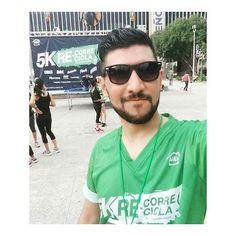 Hoy volví a las andadas. #5k #RecorreRecicla #AlEn #run #runners #runmty #runnersmty #funday #sunday #Reto12Medallas #Medalla7