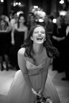 I hope my photographer catches at least one picture like this. She looks so joyful! Just looking at it makes me smile!