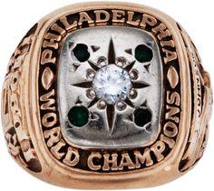 1960 Philadelphia Eagles NFL Championship Ring Presented to Gene Johnson