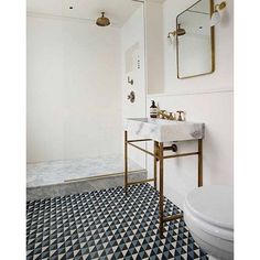 """""""Let's soak up some tile inspiration shall we! How gorgeous is this bathroom! The tiles in particular are beyond divine!! #homedesign #lifestyle #style #designporn #interiors #decorating #interiordesign #interiordecor #architecture #landscapedesign"""" Photo taken by @adesignersmind on Instagram, pinned via the InstaPin iOS App! http://www.instapinapp.com (10/19/2015)"""