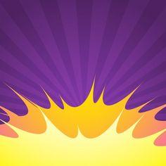Purple comic background with blast Free Vector