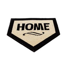 Home Plate.for home! Cute for porch decor during baseball season :). you can get it at Uncommon Goods Baseball Season, Baseball Mom, Baseball Stuff, Baseball Party, Baseball Players, Baseball Puns, Baseball Coaches, Rays Baseball, Baseball Crafts