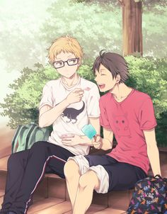 Tsukishima & Yamaguchi | Haikyuu!! #anime
