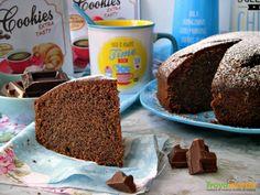Torta al cioccolato e aquafaba (ricetta vegana)  #ricette #food #recipes
