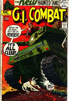 GI Combat 1952 153 May 1972 Issue DC Comics Grade by ViewObscura