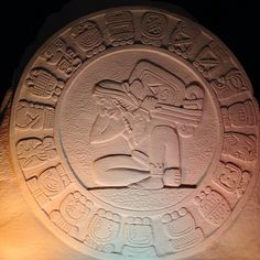 Calendario Maya, Escultura de Arena, Playa del Carmen