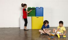 LECO recycling containers by http://www.flussocreativo.it/