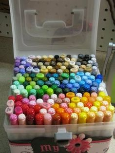 Scramp Alot: Organize your Copics