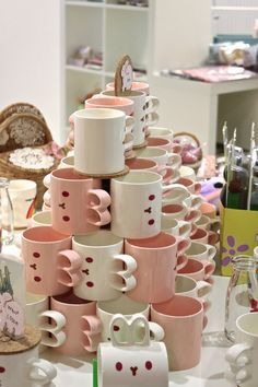 Usagi to Cafe Mugs by chostett on Flickr