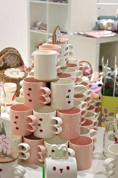 Cute bunny mugs :):