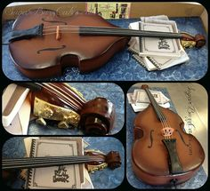 All sizes | Double Bass Birthday Cake | Flickr - Photo Sharing!