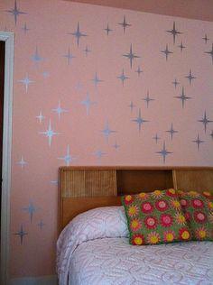 Starburst stencil