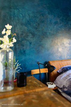 Stucco Interior Walls, Stucco Ceiling, Stucco Walls, Ceiling Art, Interior Paint Colors, Blue And Green Living Room, Stucco Paint, Venetian Plaster Walls, Faux Walls