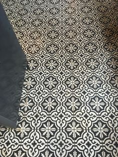 I love love love this tile! From one of my favorite coffee shops!