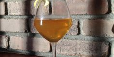 Calville Blanc au Feu - Calvados, Hard Cider, Benedictine, Honey, Lemon
