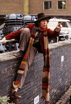 """The fourth doctor """"a hat-based guide to doctor who."""""""