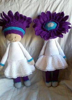 Gerbera Gemma modification for wedding made by Ashley R - crochet pattern by Zabbez
