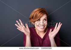 Ecstatic Woman Stock Photos, Images, & Pictures   Shutterstock