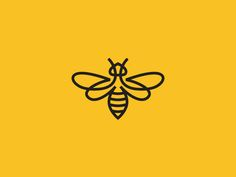 Bee by Dimitrije Mikovic #Design Popular #Dribbble #shots