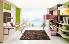 2 smart ideas for small teenage girls room  http://decoholic.org/2012/02/26/30-dream-interior-design-ideas-for-teenage-girls-rooms/  http://resourcefurniture.com