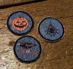 Spider Iron On Patch / Merit Badge by waggonswest on Etsy