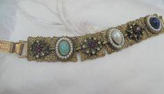 Your place to buy and sell all things handmade Filigree Jewelry, I Love Jewelry, Amethyst Stone, Vintage Jewelry, Beaded Bracelets, Turquoise, Jewels, Gold, Beautiful