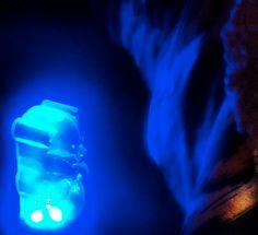 Are you afraid of the dark? #gummy #nightlight #lotsofcolors #bear #cute www.dormify.com/gummy-bear-night-light