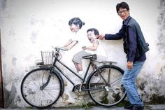 Streetart from Ernest Zacharevic