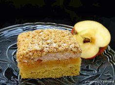 Przyjemność z pieczenia: Kruchy placek z jabłkami i kisielem Tiramisu, French Toast, Cheesecake, Pie, Cookies, Baking, Breakfast, Ethnic Recipes, Food