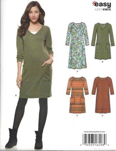 New Look - 6298 jurk - Lots of patterns on sale now!